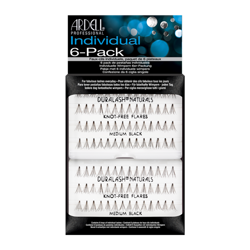 Ardell Individual Naturals Long Black 6 pack