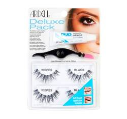Ardell Rzęsy Deluxe Pack Wispies Black